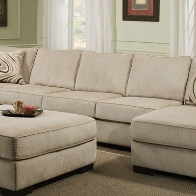 Stoneridge Armless Sofa by Simmons Upholstery