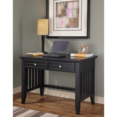 Lakeview 42 W Writing Desk Finish: Black