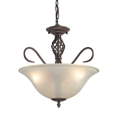 Battersby 3-Light Bowl Pendant