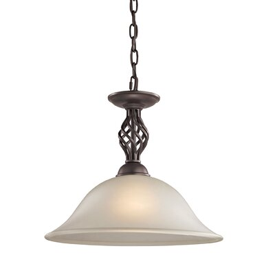 Battersby 1-Light Bowl Pendant