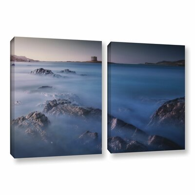 Sea of Avalon 2 Piece Graphic Art on Wrapped Canvas Set Size: 18