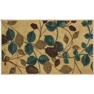 Essex Beige/Green Area Rug Rug Size: 16 x 26