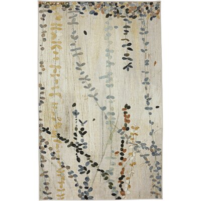 Parsons Beige Area Rug Rug Size: 76 x 10