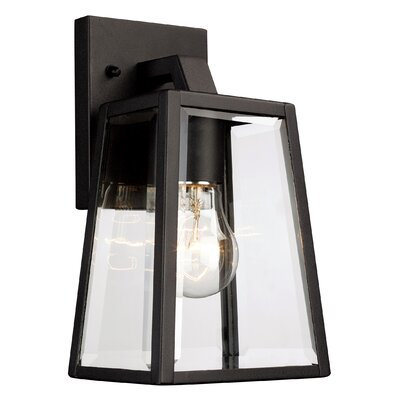 Alcott Hill Sowders 1 Light Outdoor Wall Lantern