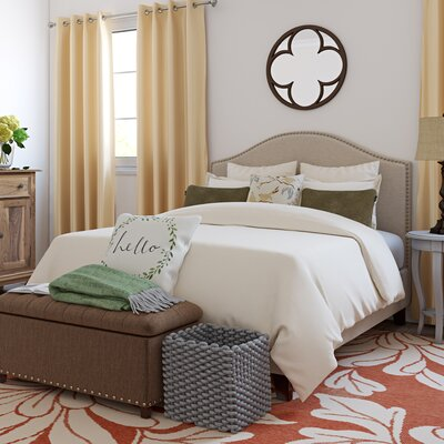 Penshire Upholstered Panel Headboard Size: Queen/Full