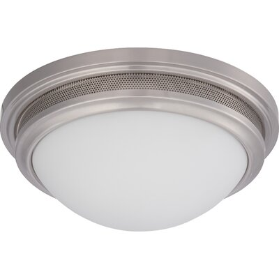 Smithton 1-Light Flush Mount Finish: Brushed Nickel
