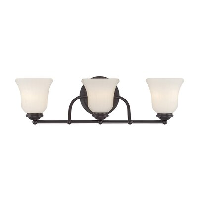 Sycamore 3-Light Vanity Light Finish: Satin Nickel