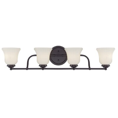 Sycamore 4-Light Vanity Light Finish: English Bronze