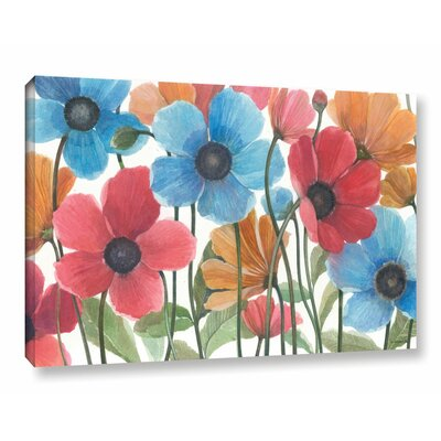 Garden Beauties Painting Print on Wrapped Canvas Size: 12