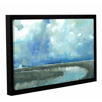 Meandering Stream Framed Painting Print on Wrapped Canvas Size: 12