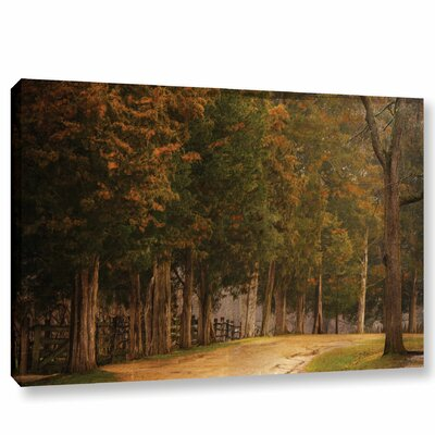 A Road Less Traveled Painting Print on Wrapped Canvas Size: 12