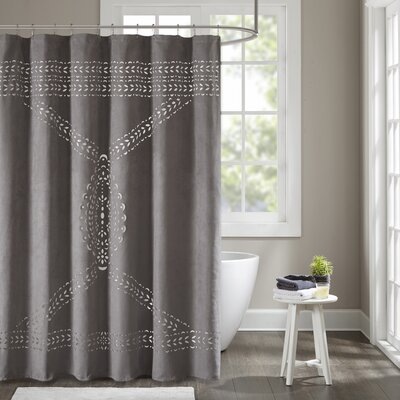 Leonhardt Laser Cut Shower Curtain