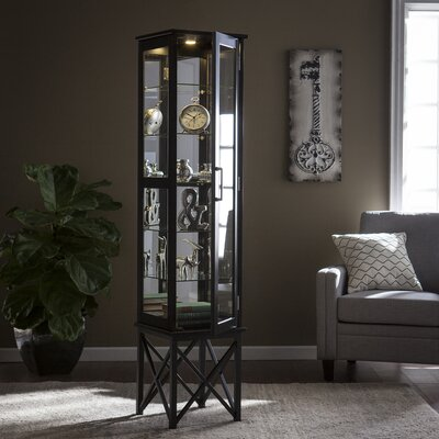 Clarkshire Lighted Curio Cabinet