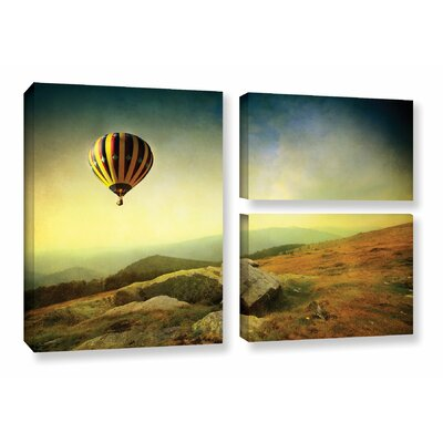 Keys to Imagination III 3 Piece Photographic Print on Wrapped Canvas Set