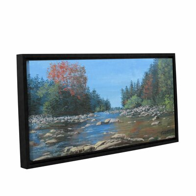 Vices Framed Painting Print on Wrapped Canvas Size: 12
