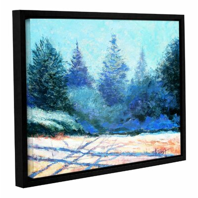 Tree Side Framed Painting Print on Wrapped Canvas Size: 14
