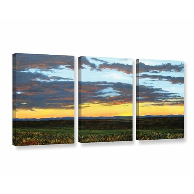 American Dream 3 Piece Painting Print on Wrapped Canvas Set Size: 18