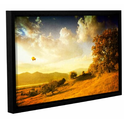 Autumn Vision Framed Photographic Print on Wrapped Canvas
