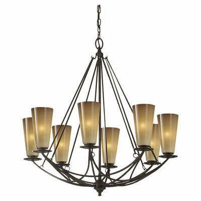 Armory 8-Light Shaded Chandelier