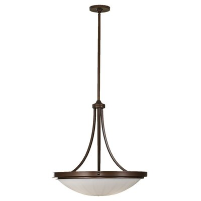 Clouser 3-Light Inverted Pendant