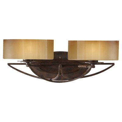 Alcott Hill Armory 2 Light Vanity Light