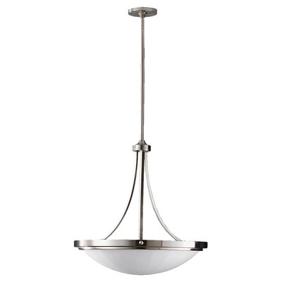 Clouser 3-Light Bowl Inverted Pendant