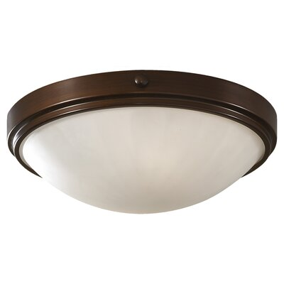 Clouser 1-Light Flush Mount