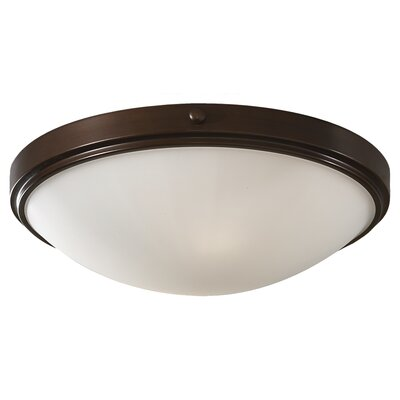 Clouser 2-Light Flush Mount
