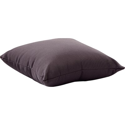 Marietta Outdoor Throw Pillow Size: Small, Color: Gray