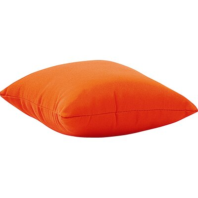 Marietta Outdoor Throw Pillow Size: Small, Color: Orange