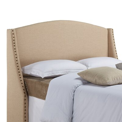 Drumagorgan Upholstered Wingback Headboard