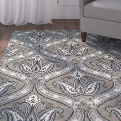 Mariemont Hand-Tufted Taupe Area Rug