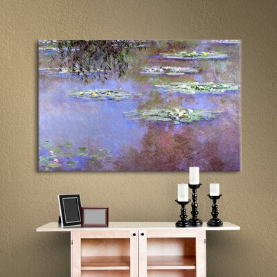 Sea Roses II by Monet Canvas Print