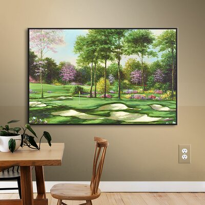 Bunkers Abound Painting Print on Wrapped Canvas