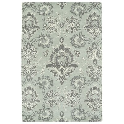 Mariemont Hand-Tufted Pewter Area Rug Rug Size: Rectangle 3 x 5