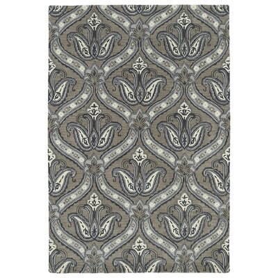 Mariemont Hand-Tufted Taupe Area Rug Rug Size: Rectangle 5 x 79