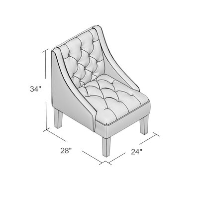 Mystere Armchair Upholstery: Mystere Eclipse