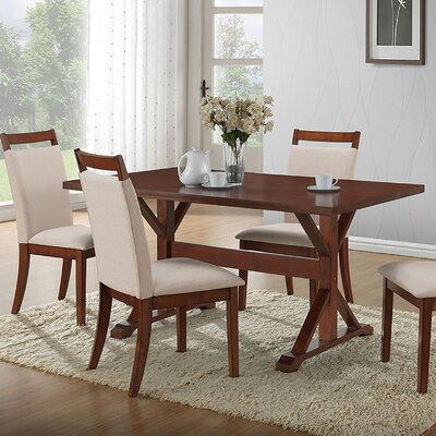 Maelynn Dining Table Finish: Chestnut