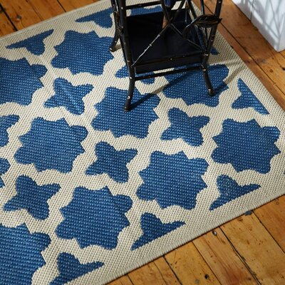 Alcott Hill Bexton Navy Indoor/Outdoor Area Rug