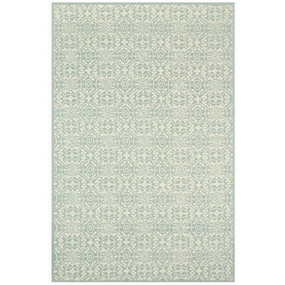 Bloomery Hand-Tufted Aloe Area Rug Rug Size: 79 x 99