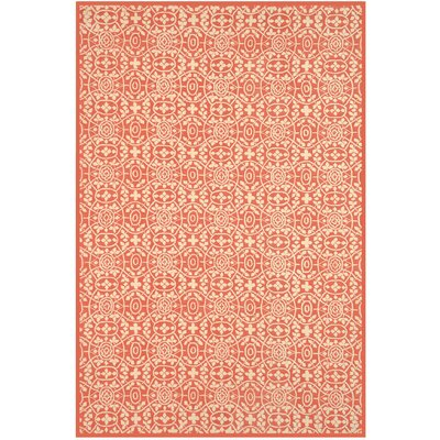 Bloomery Hand-Tufted Tearose Area Rug Rug Size: Rectangle 79 x 99