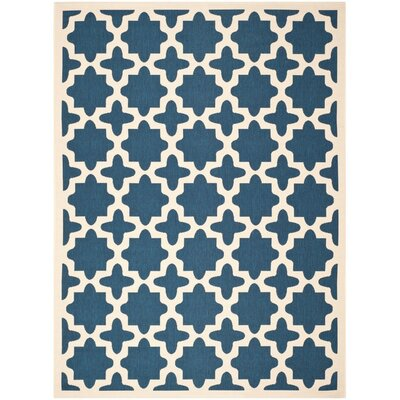Osgood Blue Indoor/Outdoor Area Rug Rug Size: Rectangle 9 x 12