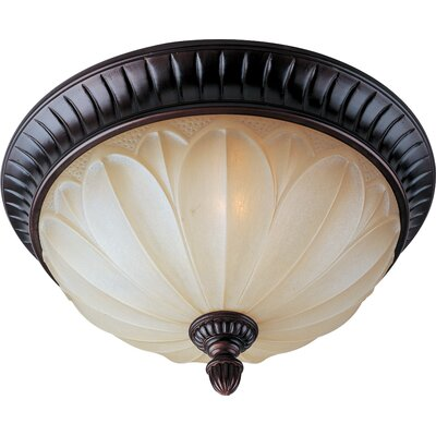 Shillings 2-Light Flush Mount