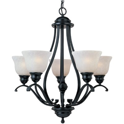 Sparland 5-Light Shaded Chandelier