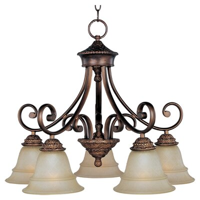 Spielman 5-Light Shaded Chandelier