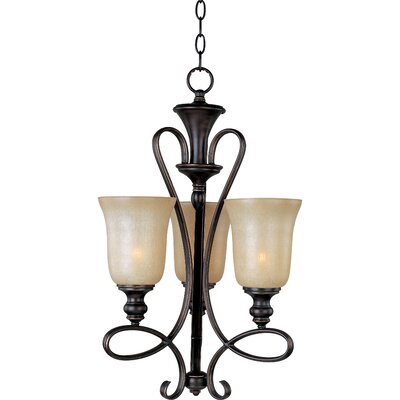 Callihan 3-Light Shaded Chandelier