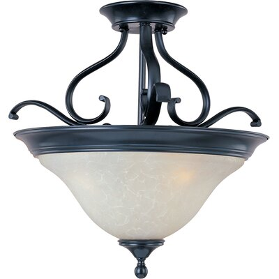 Streator 3-Light Semi-Flush Mount
