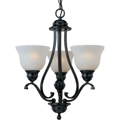 Streator 3-Light Shaded Chandelier