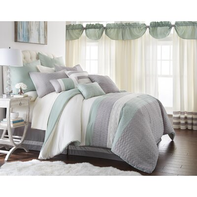 Hemming 24 Piece Comforter Set Size: King