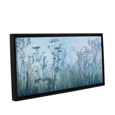 Wildflowers Early Framed Photographic Print on Wrapped Canvas